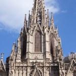 La Catedral de la Santa Cruz y Santa Eulalia — Stock Photo #19540365