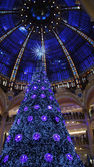 Christmas at Galeries Lafayette — Stock Photo