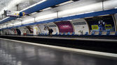 Metro station in Paris — Stock Photo
