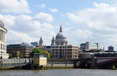 City of London and St Paul's Cathedral — Foto Stock