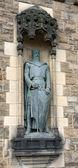 Knight at the Edinburgh Castle — Stock Photo
