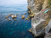 Steps on the sea — Stockfoto