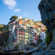 Stock Photo: View of Riomaggiore