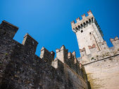 Castle of sirmione — Stock Photo