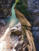 Bellano waterfall gorge — Stock Photo
