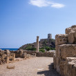 Nora ruins on sardegna — Stock Photo #30917779