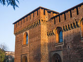 Sforza's Castle — Stock Photo