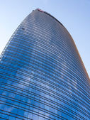 Unicredit bank tower in milan — Stockfoto