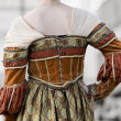Period dress — Stok fotoğraf