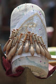 Bobbin Lace Accessories — Stock Photo