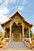 Tempel im norden von thailand — Stockfoto