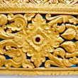 Craft thai patterns on the wall — Stock Photo