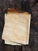 Papel antiguo de madera marrón — Foto de Stock