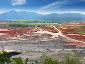 Open Pit  Lignite Mine — Stock Photo