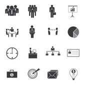 Business Icons Vektor. — Stockvektor