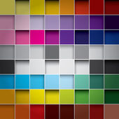 Seamless blocks colour background, Vector Eps 10 — Stock Vector