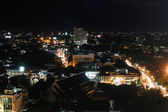 CHIANG MAI, THAILAND - JULY 14, 2014: aerial view on Chiang Mai  — Stock Photo