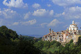 Panoramic of zagarolo - Roma, Italia. — Stock Photo