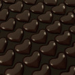 Heart shape delicious chocolate — Stock Photo #41834113