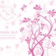 Beautiful valentine card - Stock Vector