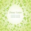 Royalty-Free Stock Vector Image: Easter floral card