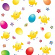 easter wallpaper — Stock Vector