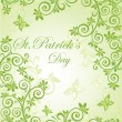 Banner for St. Patrick — Stock Vector