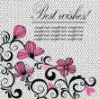 Royalty-Free Stock Vector Image: Beautiful background with lace