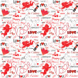 Valentine wallpaper - Stock Vector