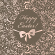 Vintage Easter card — Stock Vector