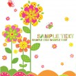 Greeting card - Stock Vector