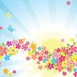 Blossom - Stock Vector