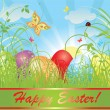 Easter background - Stock Vector