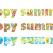 Happy summer! — Stock Vector