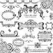 Wedding design. Set. — Vettoriale Stock #19573065