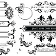 Vintage headers — Stock Vector