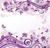 Vintage violet background — Stock Vector