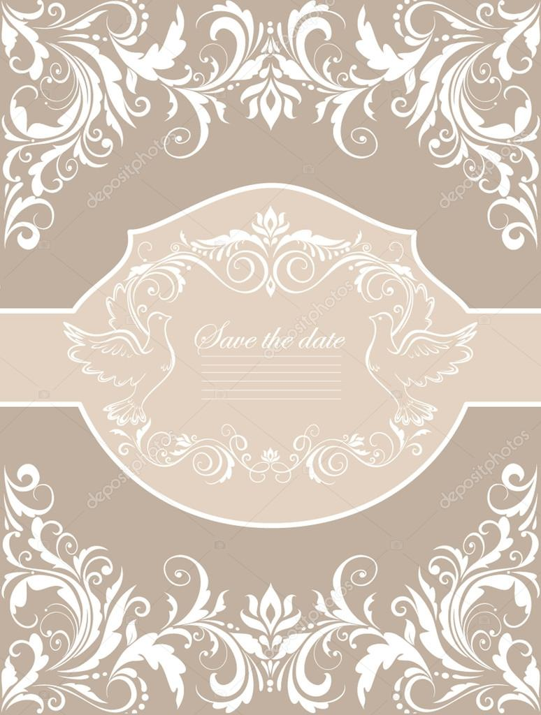 Wedding banner — Stock Vector #19573063