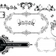 Vetorial Stock : Vintage wedding decoration