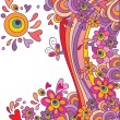 Funny colorful background - Imagen vectorial