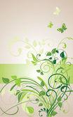 цветочные баннер — Cтоковый вектор
