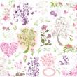 Beautiful floral design — Stock Vector