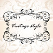 Vintage style — Stock Vector #19805527