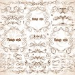 Royalty-Free Stock Vector Image: Vintage frames and design elements