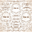 Vintage frames and design elements — Stock Vector #19806093
