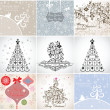 Christmas cards — Stock Vector #19811223