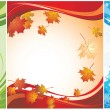Seasonal banners — Vector de stock #19815887