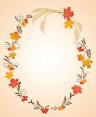 秋季帧 — 图库矢量图片