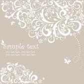 Schöne Grußkarte Pastell — Stockvektor