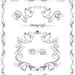 Wedding set — Stock Vector